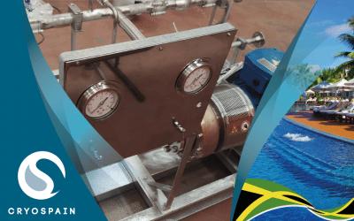 Customized Single Pump Skid for Jamaica