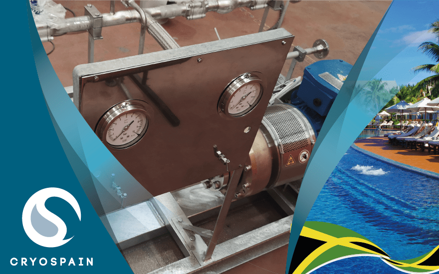Customized Single Pump Skid for Jamaica