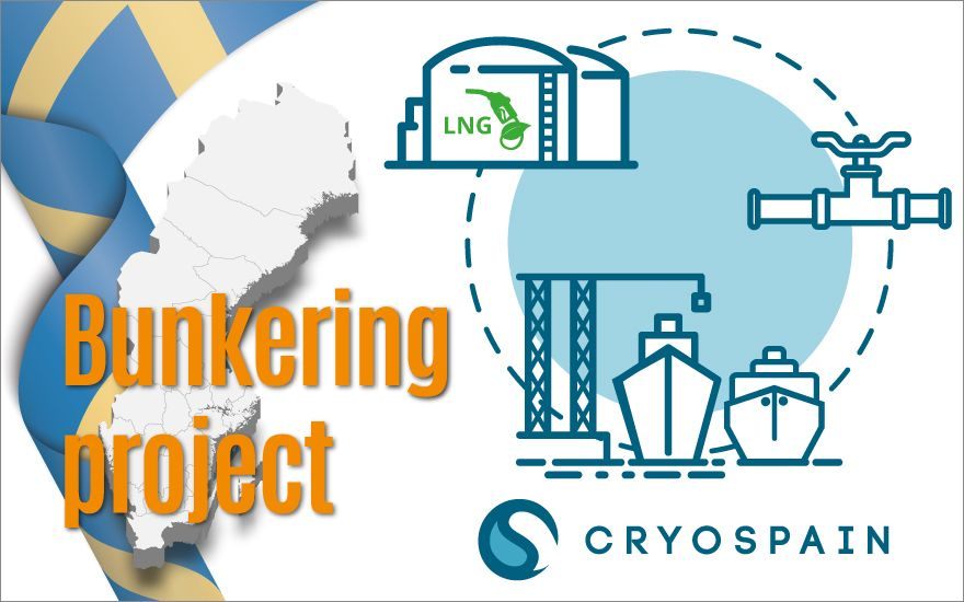 Cryospain awarded with a project including the production of 2,000 Meters of Vacuum Insulated pipelines of diameter up to DN350!