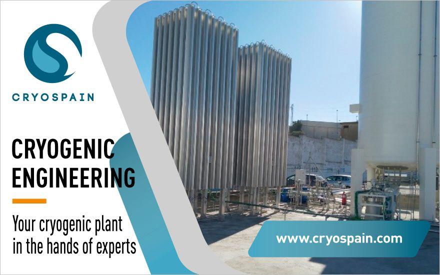 Cryospain, una ingeniería de referencia para tu planta criogénica