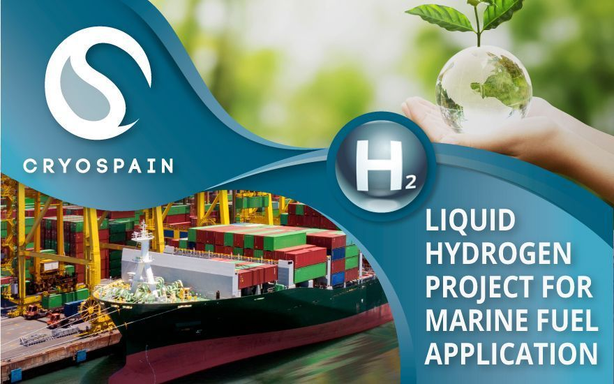 Cryospain project: Liquid Hydrogen power for cleaner shipping!